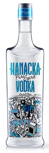 Hanacka Vodka 37,5% 0,5l