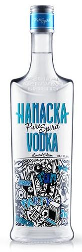 Hanacka Vodka 37,5% 1l