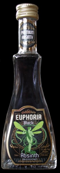 Euphoria Absinth Black 70% 0,05l