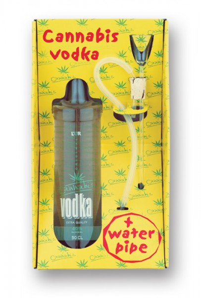Cannabis Vodka Box 40% 0,5l