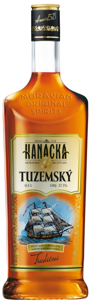 Rum Hanacka Tuzemsky Tradicni 37,5% 0,5l