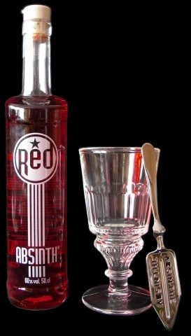 Staroplzenecky Absinth Red Starterkit