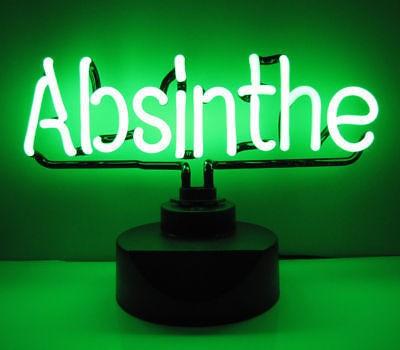 """Neonleuchte """" ABSINTHE """""""