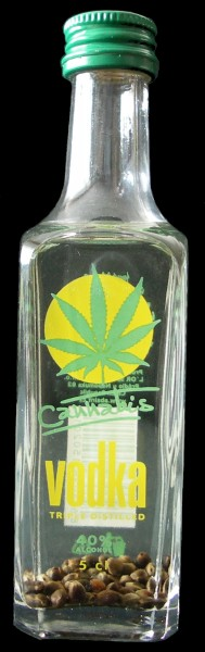 Cannabis Vodka 40% 0,05l