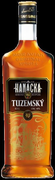 Rum Hanacka Tuzemsky 40% 0,5l