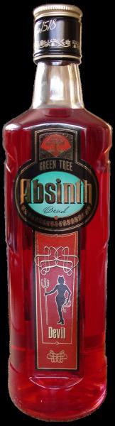 Absinth Devil 70% 0,5l